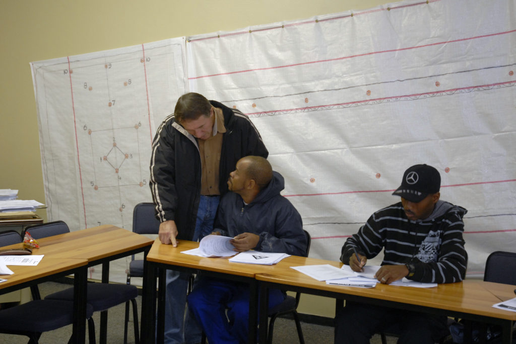 Welkom, Free State province: Training programme at Harmony Gold Mine