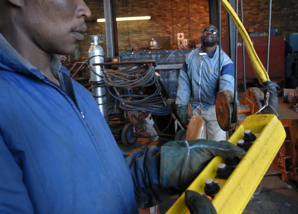 Welkom, Free State province: Repairs, Harmony Gold Mine