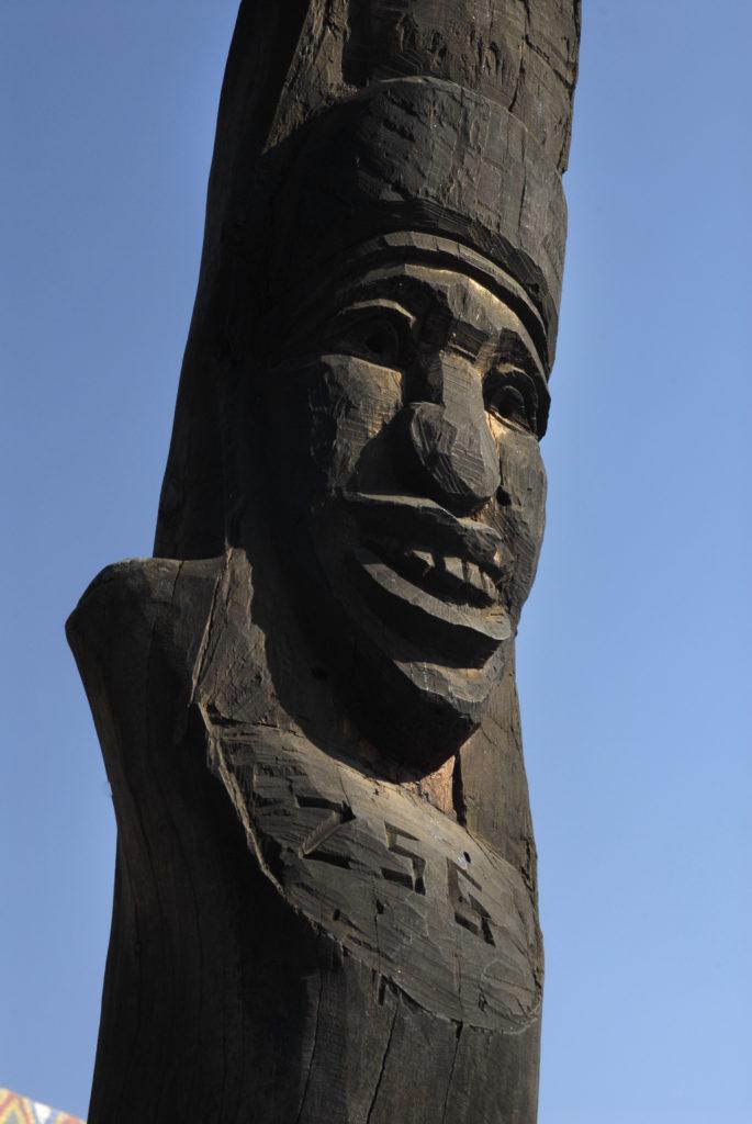 Central Drakensberg, KwaZulu-Natal: Sculpture at the Thokozisa Information Centre