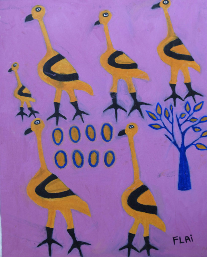 Northern Cape: Artwork on display at the Wildebeest Kuil Rock Art Tourist Centre