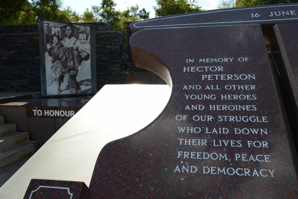 Johannesburg, Gauteng province: The Hector Pieterson Memorial in Soweto