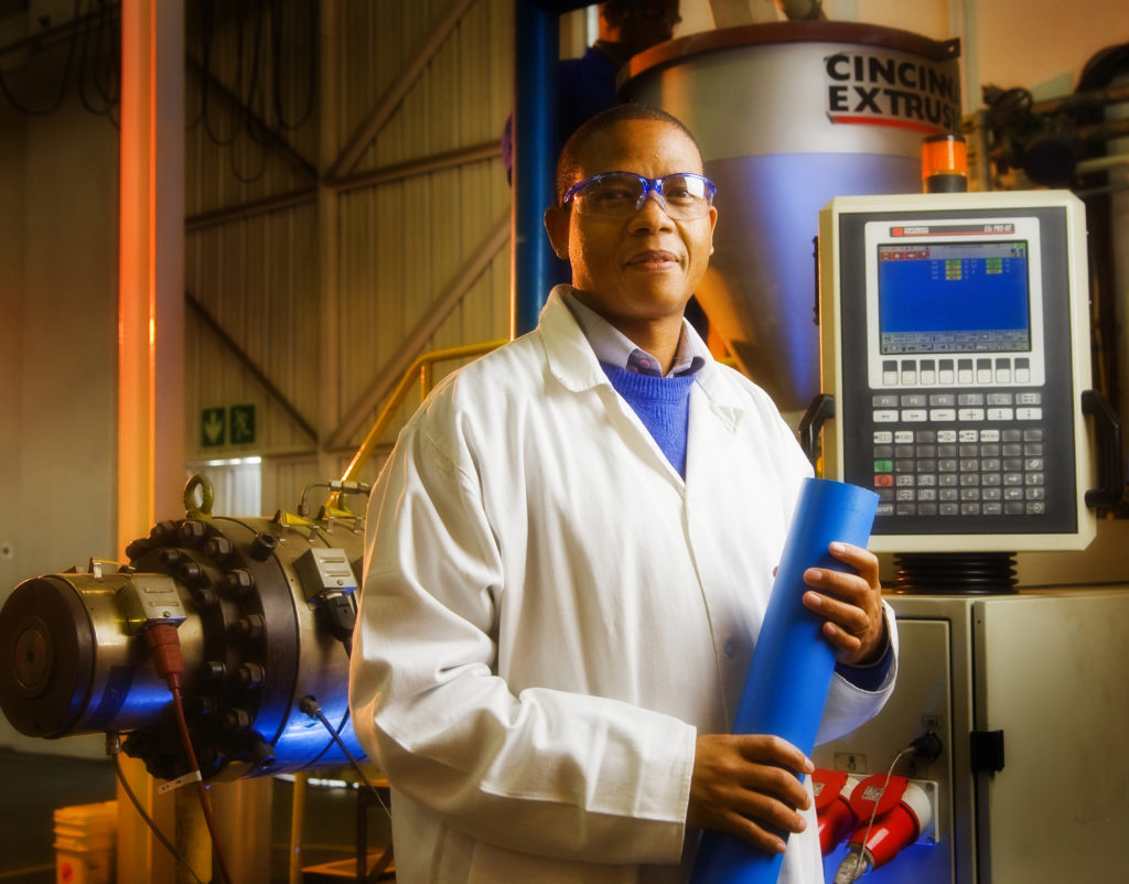 Scientist in Sasol's polymers division
