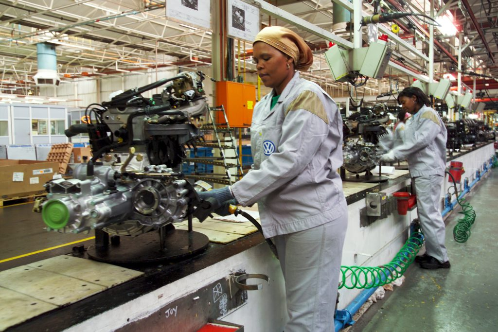 Uitenhage, Eastern Cape: Volkswagen South Africa plant