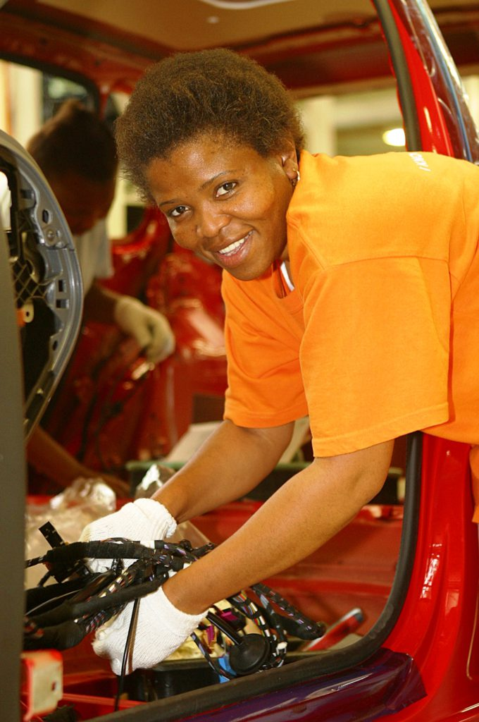 Uitenhage, Eastern Cape province: The Volkswagen South Africa plant
