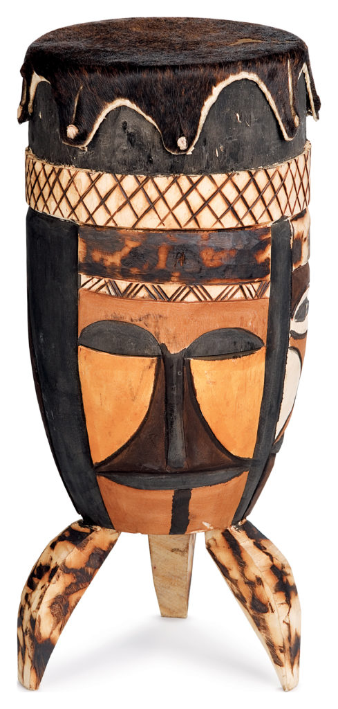 Drums are an important instrument in African culture