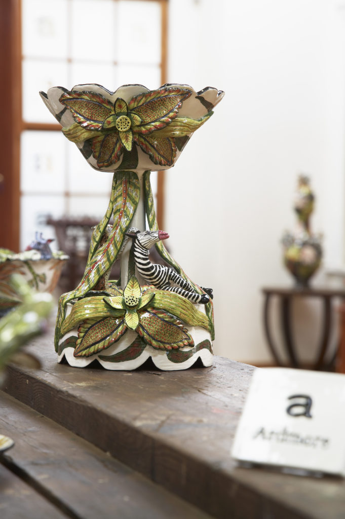 KwaZulu-Natal Midlands: Ornate ceramics for sale at Ardmore Ceramics