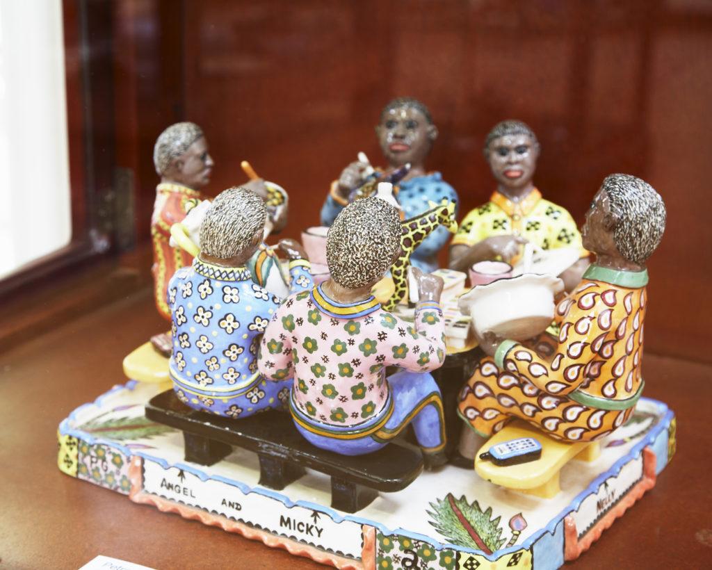KwaZulu-Natal Midlands: Artwork at the Ardmore Ceramics studio