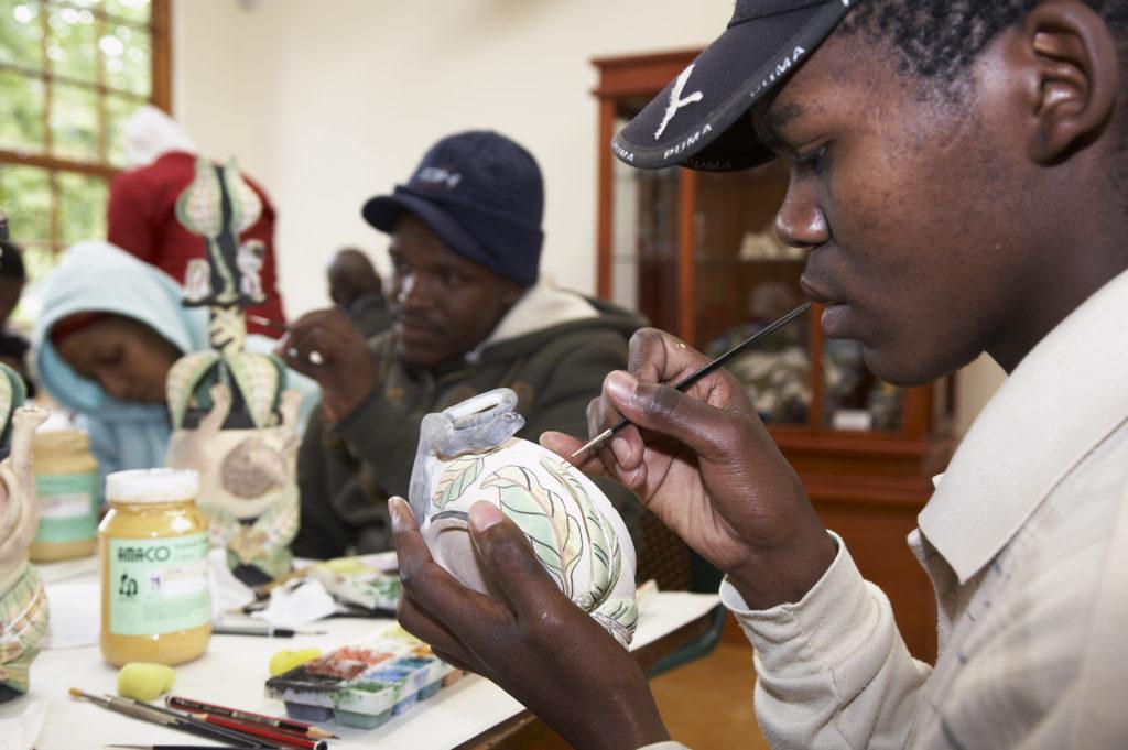 KwaZulu-Natal Midlands: Ardmore Ceramics studio