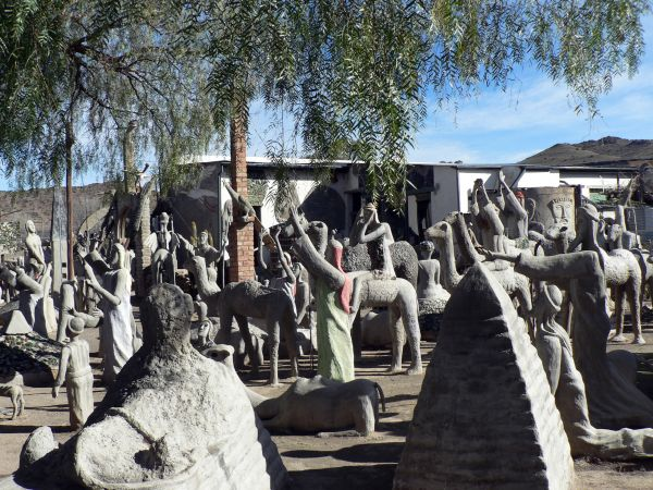 Nieu Bethesda, Eastern Cape province: Compelling artworks of cement and glass