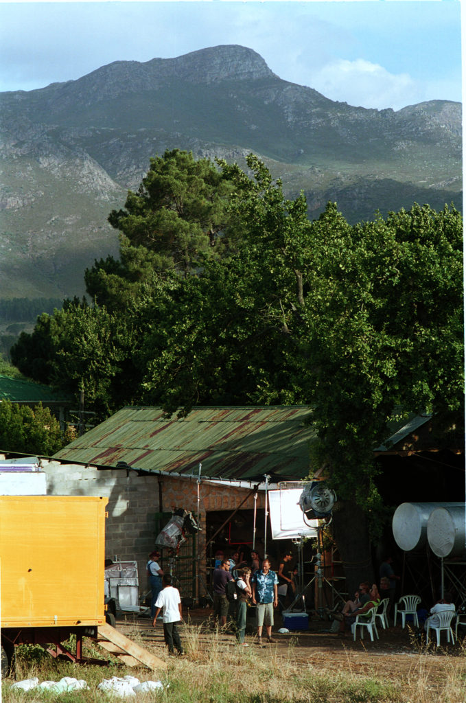 Cape Town, Western Cape province: Set of a German advert production