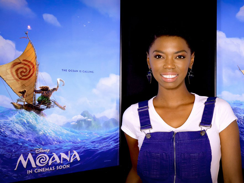 Lira at Moana movie