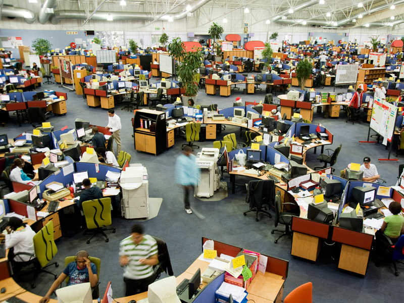 Call centre in Johannesburg