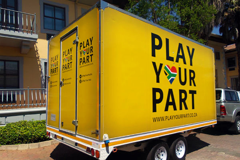 The Play Your Part cube hits the road ...
