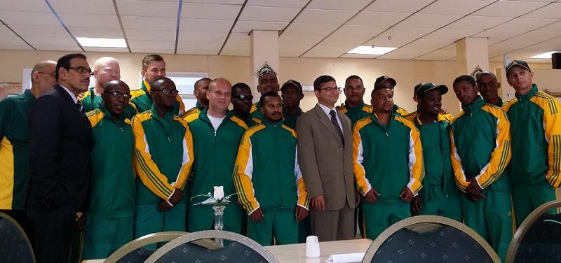 blind cricket south africa team
