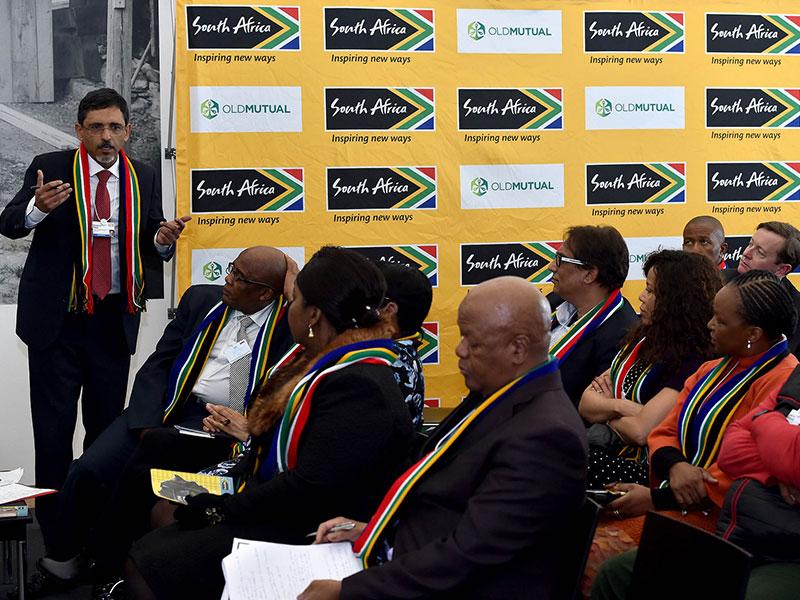 Team SA at Davos