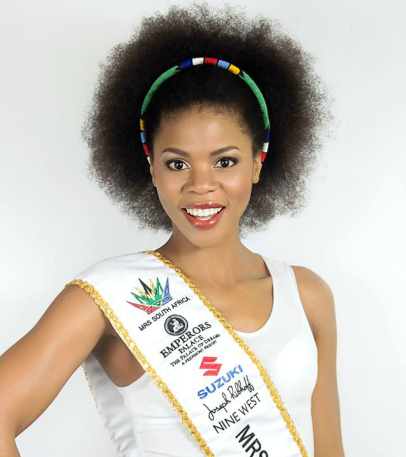 Olwethu Leshabane, Mrs South Africa 1st Princess