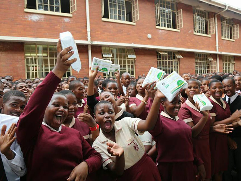 Free sanitary pads in KZN