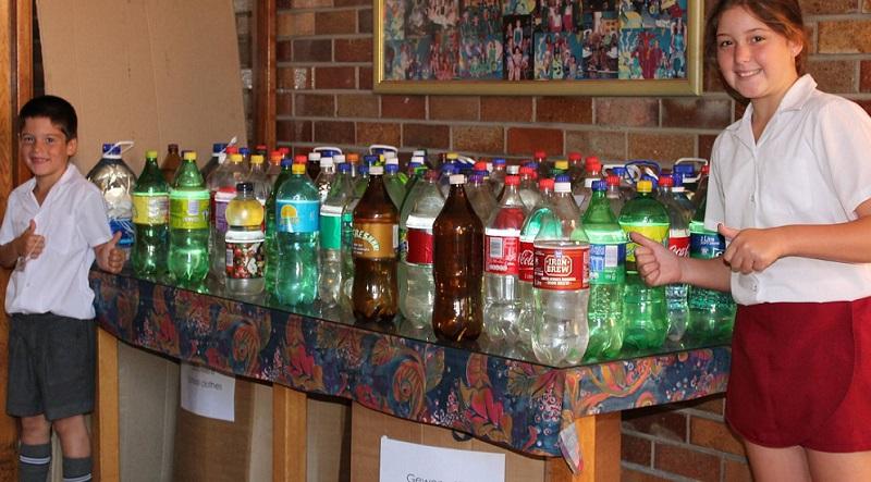kabega primary green bottles