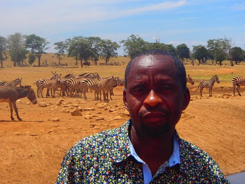 Patrick Mwalua, Kenya, Tsavo West National Park, conservation, water trucks, drought