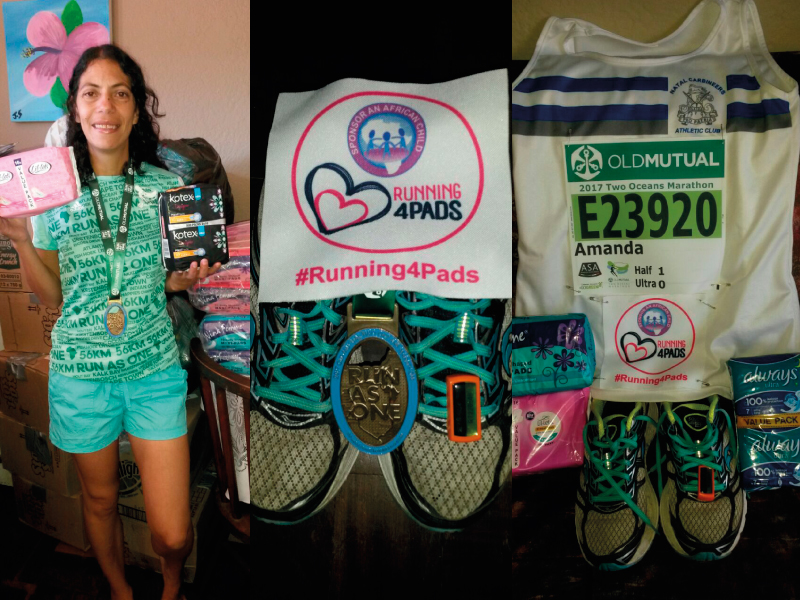 Amanda Smith running