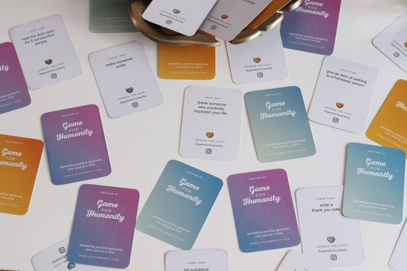 Game For Humanity, Mark Buhrer, card game, community, positive contribution, social entrepreneurship
