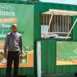 Entrepreneur Lufefe Nomjana is using spinach to build his business and promote healthy living