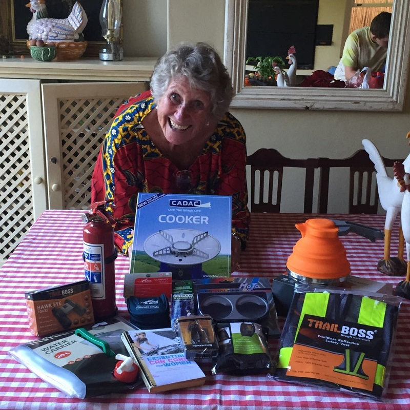 Grandmother Julia Albu is driving across Africa in her 20-year-old Toyota for a literacy charity