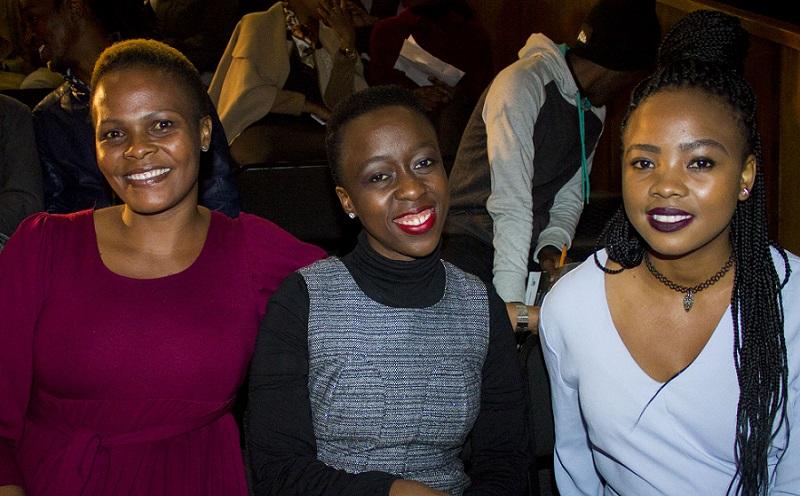 book celebration Noxolo Ntsokolo, Sindiswa Mkhwanazi and Onneile Khwene