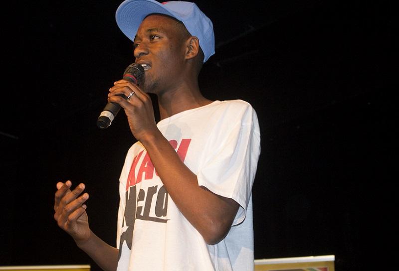book celebration Poet Tebatso Mokoena