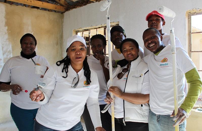 Mandela Day AfricOil children's home