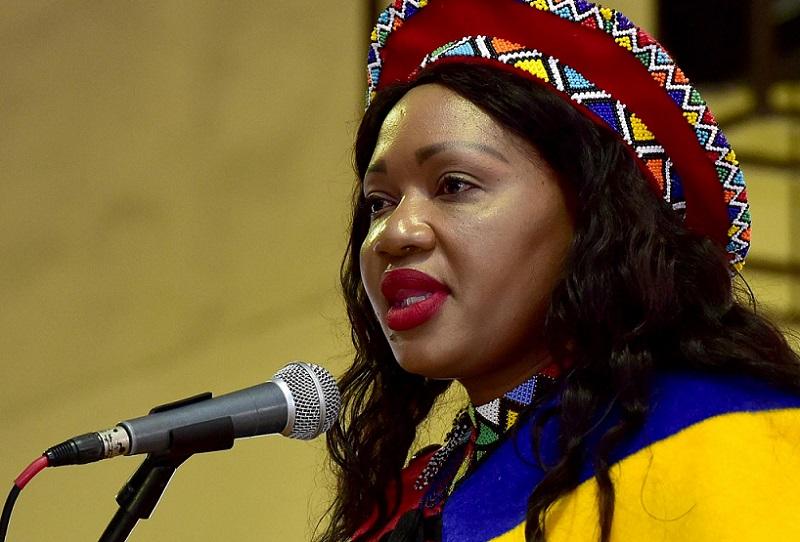 Deputy Minister of Communications, Ms Tandi Mahambehlala