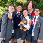 Four students from St John's Preparatory School are global book quiz champions