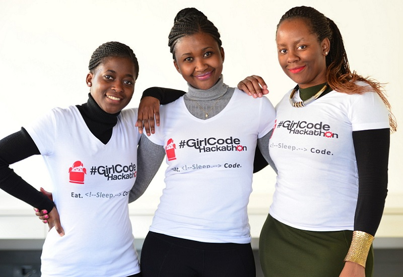 women coding Girl Code ZA