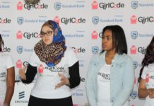 UCT students hackathon girlcodeza