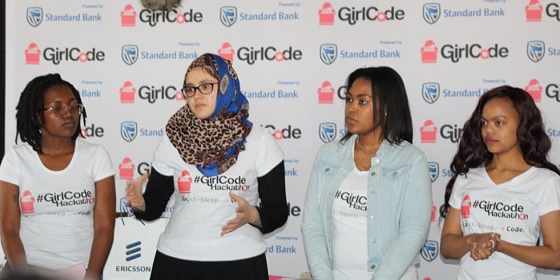 UCT students hackathon girlcodeza
