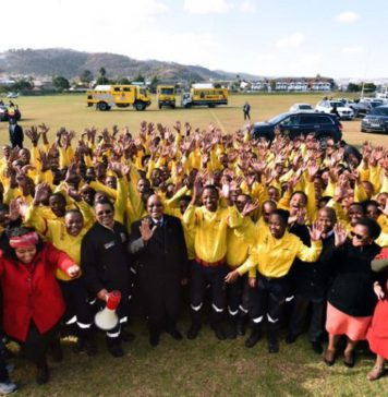 Community leaders, emergency workers and volunteers who helped save a community