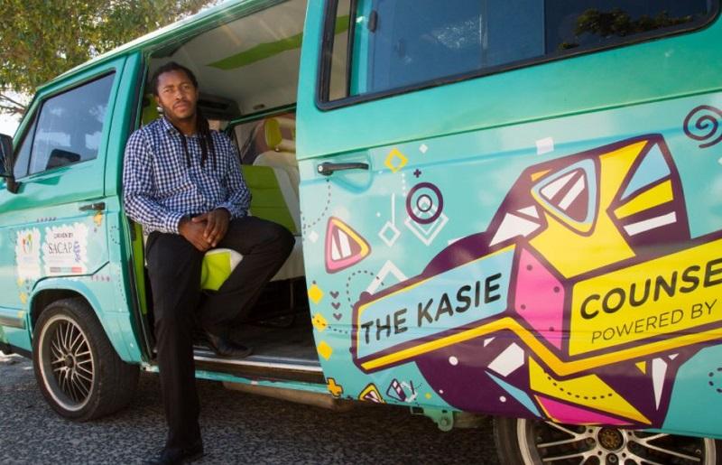 Banetsi Mphunga is Khayelitsha's mobile therapist, helping youth deal with mental health challenges