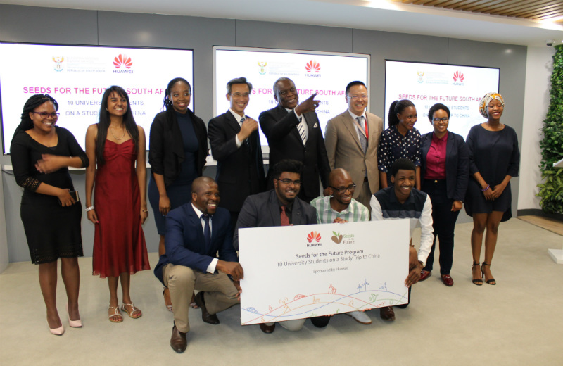 Huawei and the DTPS take students to China