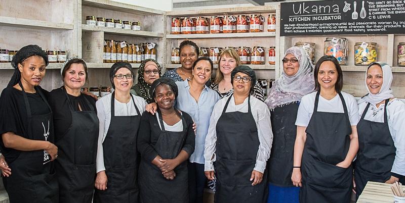 Ukama Kitchen Incubator opening