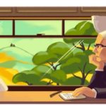 South African writer Alan Paton features on the Google Doodle on 11 January 2018.