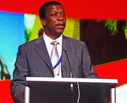 Mr Tim Modise: Chief Communitions and Marketing Officer:2010 FIFA World Cup Organising Committee.