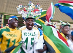 Walk it, talk it, wear it, share it! It's all about football – and, ultimately, being part of the same team: Team South Africa