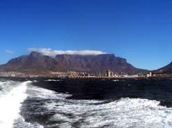 The iconic Table Mountain is a popular tourist attraction. Tourism month aims to encourage more South Africans to visit local destinations.