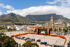 An artist's impression of Cape Town's Grand Parade, where one of South Africa's fan fests will be hosted during the 2010 Fifa World Cup