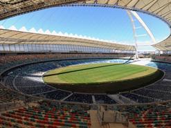 Inside Durban's Moses Mabhida Stadium