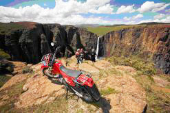The Lesotho branch of Riders for Health operates in some of the most rugged  terrain in Africa