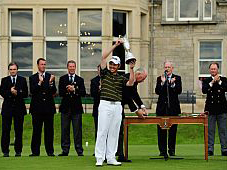 Louis Oosthuizen became the fourth South African to win the Open Championship at St Andrews, Scotland, on 18 July