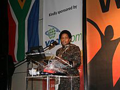 Former deputy president of the country Phumzile Mlambo-Ngcuka was one of the  speakers at the event