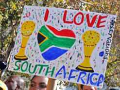 South Africans supported the 2010 Fifa World Cup and national team Bafana Bafana as a nation united