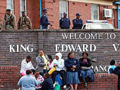 King Edward VIII is one of the hospitals  to be revamped.